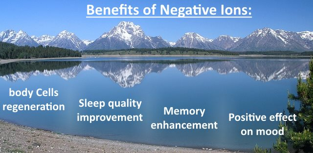 The Positive Health Benefits Of Negative Ions