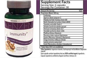 Kenzen Immunity Label