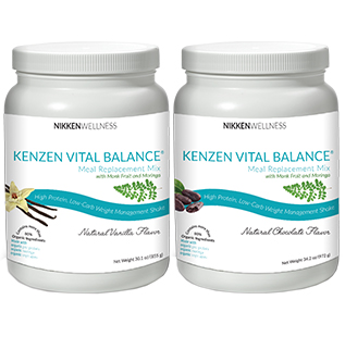 Kenzen Vital Balance Meal Replacement Mix - US