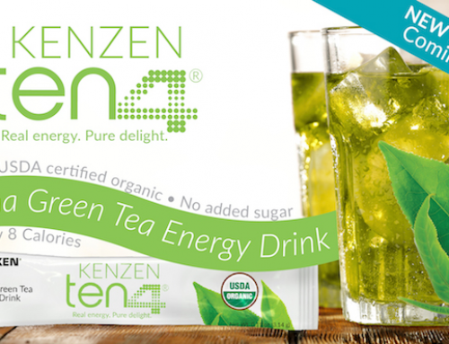 Caffeine-sensitive? Try Kenzen Ten4® with natural caffeine.